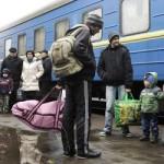 С момента начала конфликта на юго-востоке Украины в Россию приехало 500 тыс. беженцев