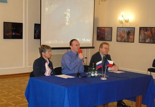Встреча с Сергеем Рязанским в РЦНК