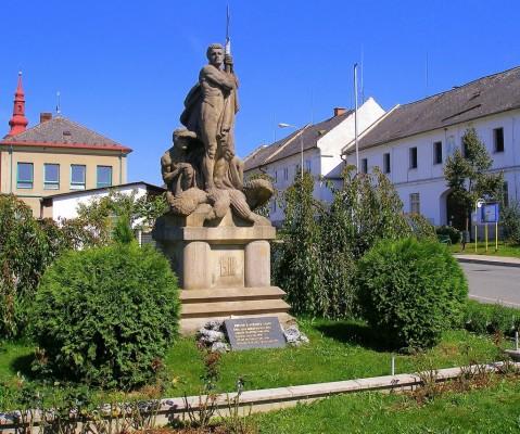 Памятник воинам, павшим в Первой мировой войне в Тршештине