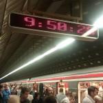 В метро будут сообщать время до прибытия поезда