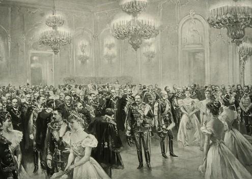 Великосветский костюмированный бал в 1893 году