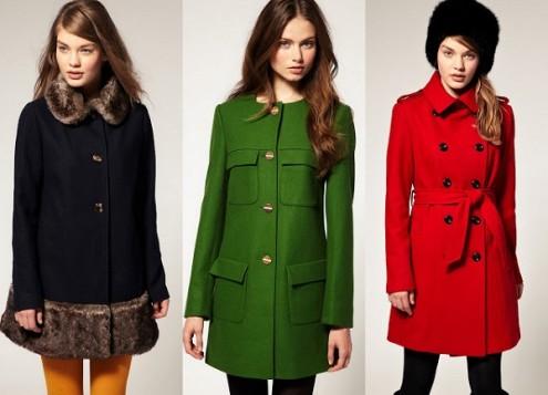 Пальто. Коллекция осень 2014