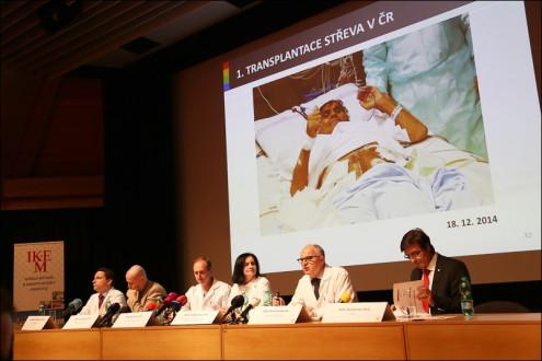 Чешские врачи впервые пересадили тонкий кишечник