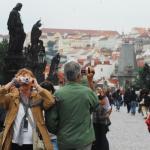 Российские туристы в Чехии