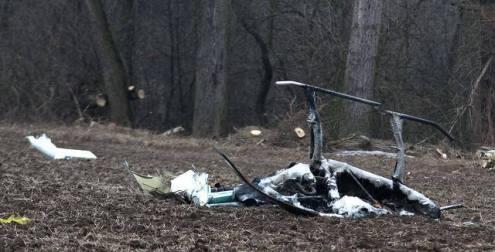 Американский экспериментальный вертолет разбился в Чехии