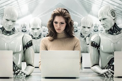 В цехе – только роботы