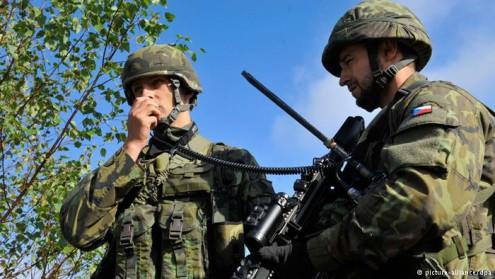Чехия увеличит численность армии
