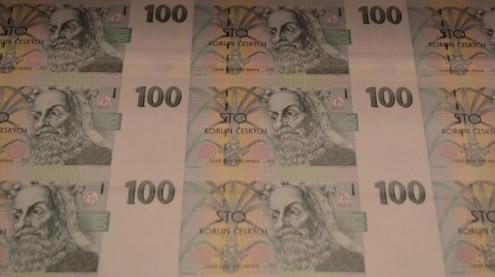 100 чешских крон