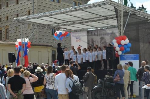 Детский хор из Чехии -г.Брно