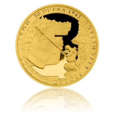 Чешский монетный двор выпустил золотую монету к 70-летию  взятия Берлина Красной армией