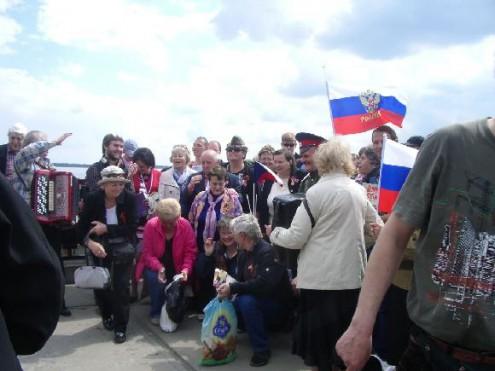 Празднование Дня Победы в Волгограде