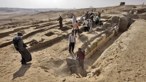 Чешские археологи