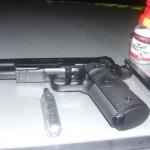 Оружие подозреваемых