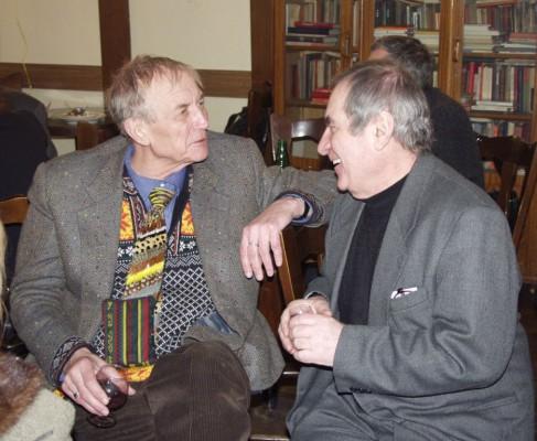 С поэтом Евгением Евтушенко