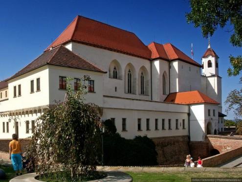 Замок и крепость Шпилберк