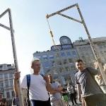 Демонстрация противников эмиграции