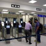 Зона паспортного контроля