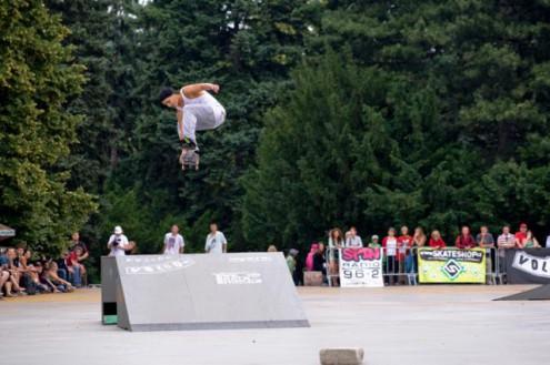 Скейтбординг в Праге