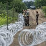 Стена на венгерской границе