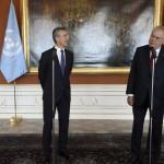 Глава НАТО и президент Чехии