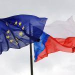 Флаги ЕС и ЧР