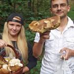Грибники на западе Чехии