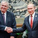 Президенты Чехии и России