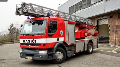Пожарные в Чехии