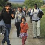 Беженцы на пути в Европу