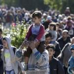 Поток мигрантов в Европе