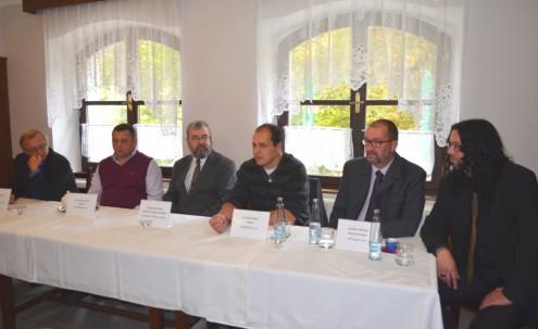 Пресс-конференция, по случаю окончания реставрации Храма