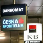 Česká spořitelna a Komerční bankа