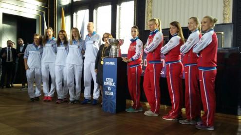 Чешская и российская команды