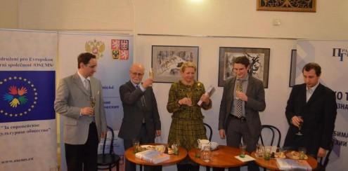 Презентация  двуязычного издания «Российско-чешские торгово-экономические отношения»
