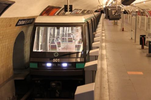 Метро без машинистов в Париже