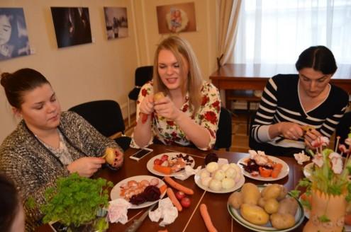 Мастер-класс «Кухня народов России»