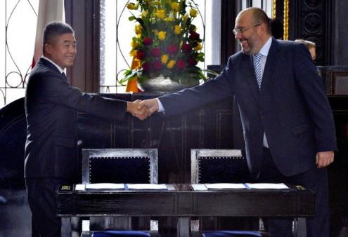 Прага и Пекин подписали меморандум о сотрудничестве
