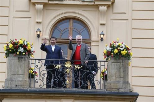 В Праге конфликтовали сторонники и противники  приезда президента КНР