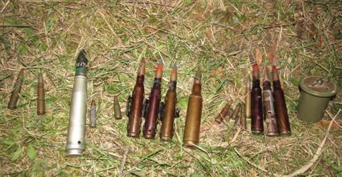 Дети нашли боеприпасы в пруду Оломоуца