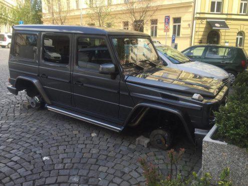В центре Праги произошла необычная кража
