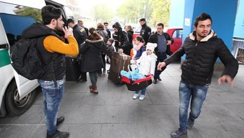 Иракских беженцев поймали недалеко от немецкой границы