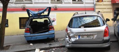 Пьяный полицейский разбил более 50 машин