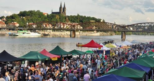 Фестиваль уличной еды пройдет в Праге