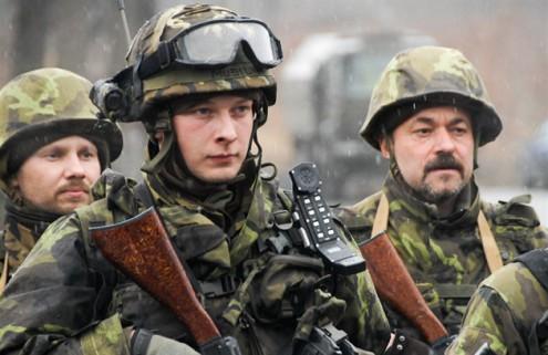 Чешская армия проводит учения