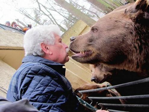 Умер один из известных медведей Медведариума