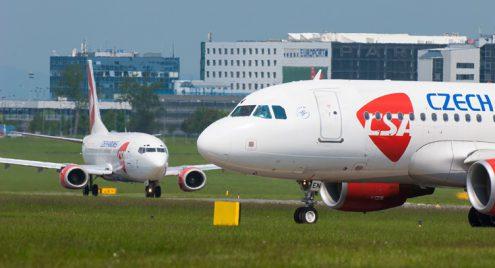 Чешские авиалинии открывают 11 новых направлений