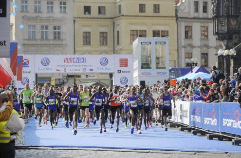 В Праге пройдет Volkswagen Marathon Weekend