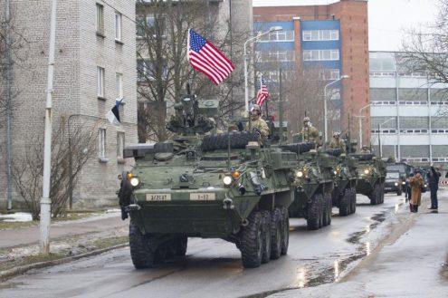 В пятницу в Прагу приедут американские военные с боевой техникой