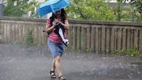 В ближайшие дни в Чехии ожидаются дожди