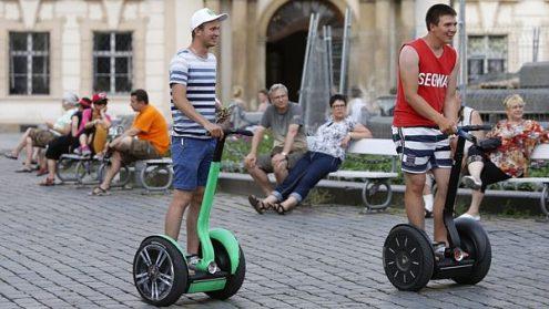 Прага хочет запретить езду на сегвеях в центре города